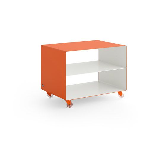 Müller Möbelfabrikation,Coffee & Side Tables,furniture,nightstand,orange,product,shelf,table