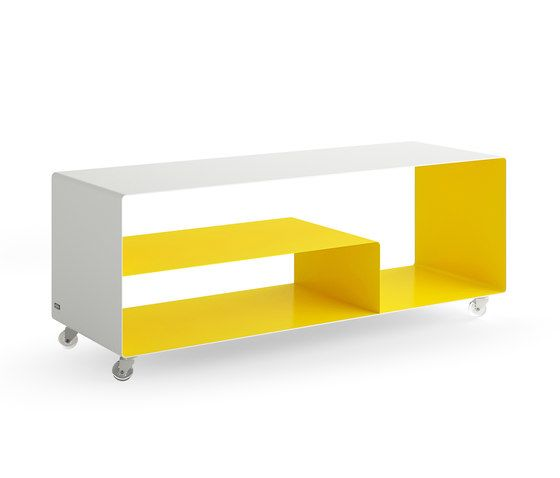Müller Möbelfabrikation,Cabinets & Sideboards,furniture,product,shelf,shelving,sideboard,table,yellow