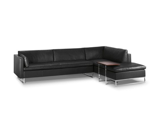 Intertime,Sofas,black,chaise longue,couch,furniture,leather,living room,room,sofa bed,studio couch