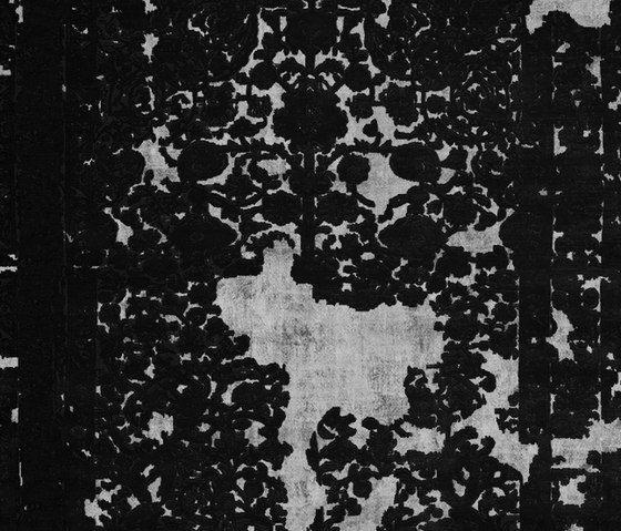Henzel Studio,Rugs,black,black-and-white,design,monochrome,pattern