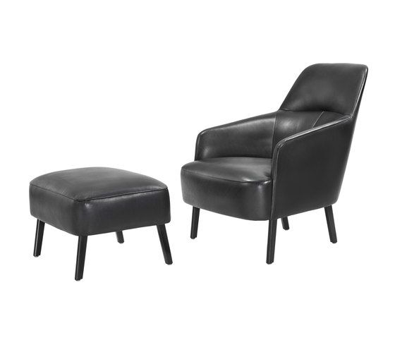 Wittmann,Lounge Chairs,chair,club chair,furniture,leather,ottoman