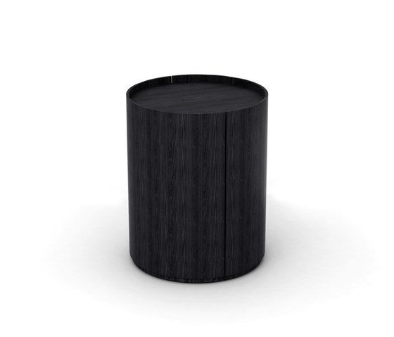 Living Divani,Coffee & Side Tables,black,cylinder,table