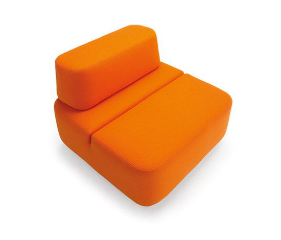 Martela Oyj,Lounge Chairs,orange,yellow