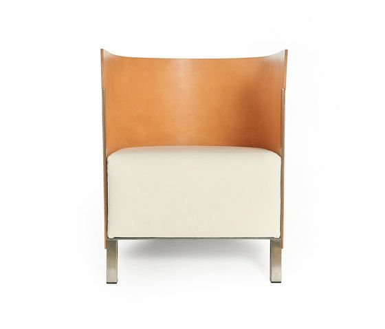 Lensvelt,Lounge Chairs,beige,chair,furniture,leather,orange
