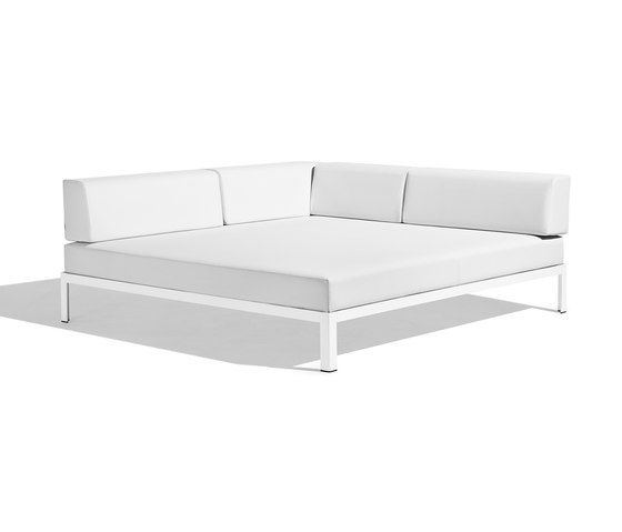 Bivaq,Outdoor Furniture,couch,furniture,leather,sofa bed,studio couch,white