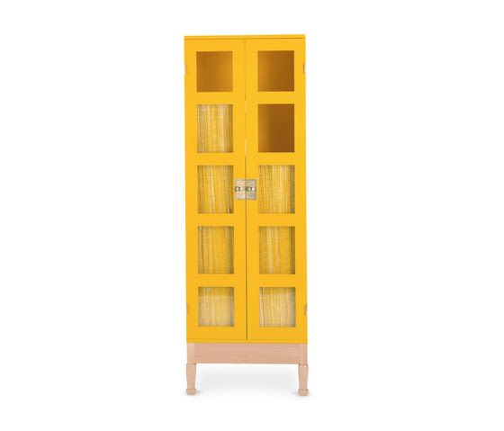Källemo,Cabinets & Sideboards,bookcase,cupboard,furniture,shelf,shelving,yellow