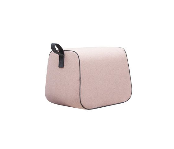 Softline A/S,Footstools,bag,beige,handbag,leather