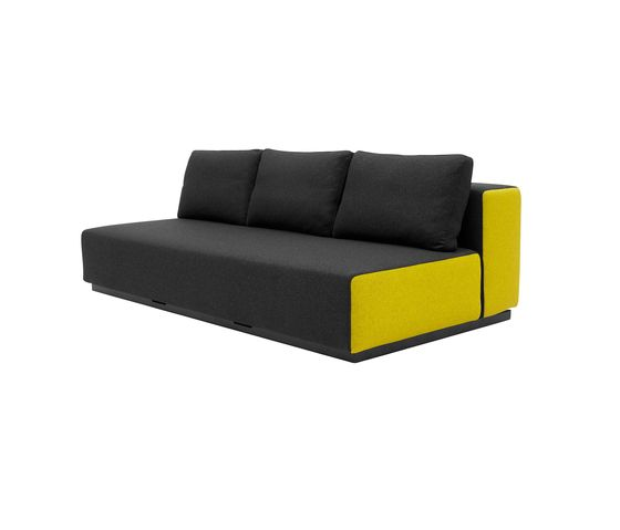 Softline A/S,Beds,black,couch,furniture,sofa bed,studio couch,yellow