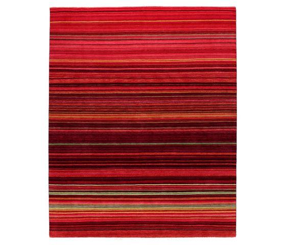 REUBER HENNING,Rugs,line,maroon,orange,rectangle,red