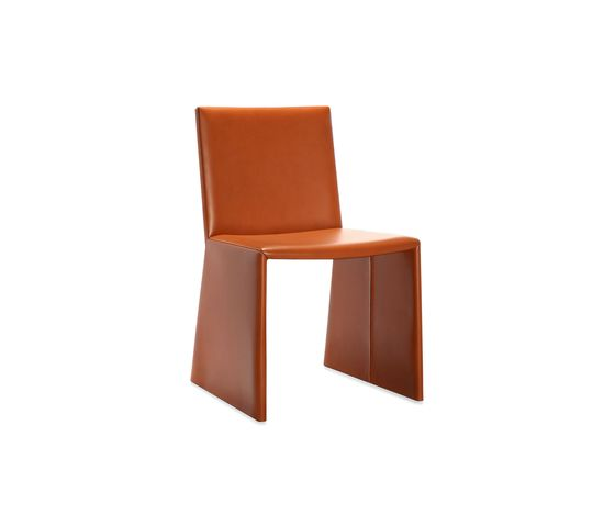 Frag,Dining Chairs,brown,chair,furniture,leather,orange,tan