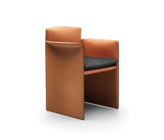 Eponimo,Office Chairs,brown,chair,club chair,furniture,leather,tan