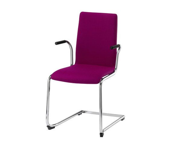 Stechert Stahlrohrmöbel,Dining Chairs,chair,furniture,line,magenta,office chair,purple,violet