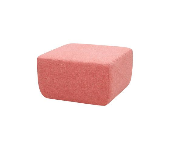 Softline A/S,Footstools,pink,rectangle