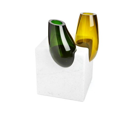 Emmanuel Babled,Coffee & Side Tables,beer bottle,bottle,drinkware,glass,glass bottle,vase,wine bottle,yellow
