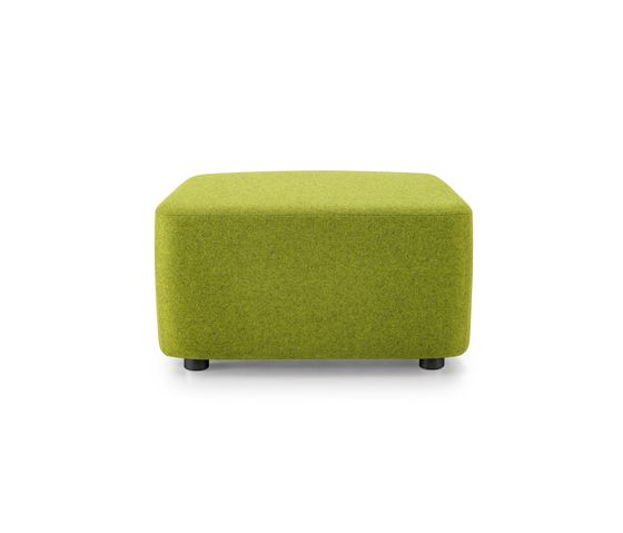 Girsberger,Footstools,furniture,green,ottoman,rectangle,stool,yellow