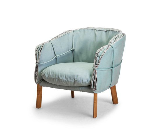 Kenneth Cobonpue,Armchairs,chair,club chair,furniture,turquoise