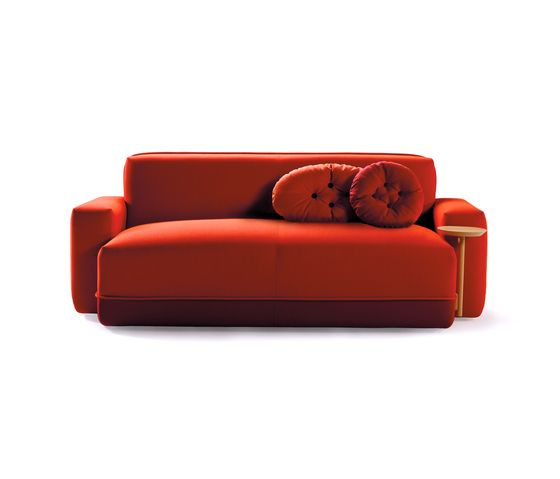 Sancal,Sofas,comfort,couch,furniture,orange,red,sofa bed,studio couch