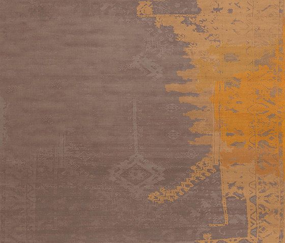 Henzel Studio,Rugs,beige,brown,line,orange,text,wall,yellow