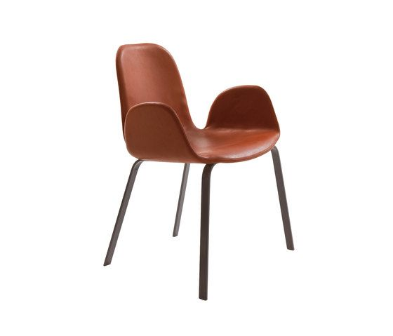 more,Office Chairs,brown,chair,furniture,leather,line,tan