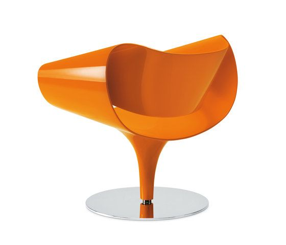 Dauphin Home,Lounge Chairs,chair,furniture,orange