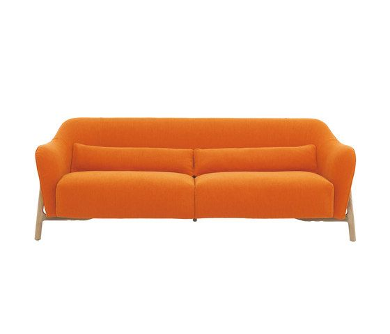 De Padova,Sofas,couch,furniture,leather,orange,sofa bed,studio couch,yellow