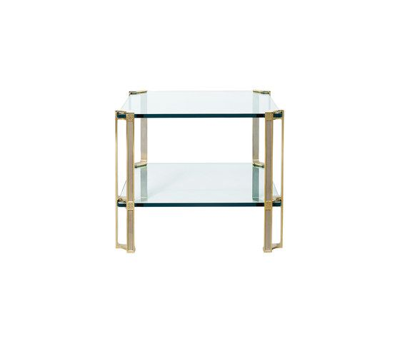 Glass, Brass Partially Gloss Legs,Ghyczy,Coffee & Side Tables,furniture,stool,table,turquoise