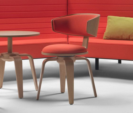 Giulio Marelli,Dining Chairs,armrest,auto part,chair,design,furniture,interior design,material property,orange,plywood,red,room,table,wood