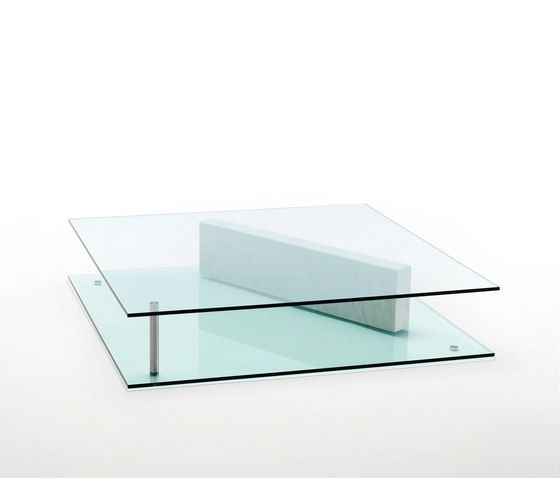Living Divani,Coffee & Side Tables,coffee table,furniture,glass,rectangle,shelf,table,turquoise