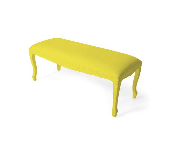 JSPR,Benches,bench,coffee table,furniture,table,yellow