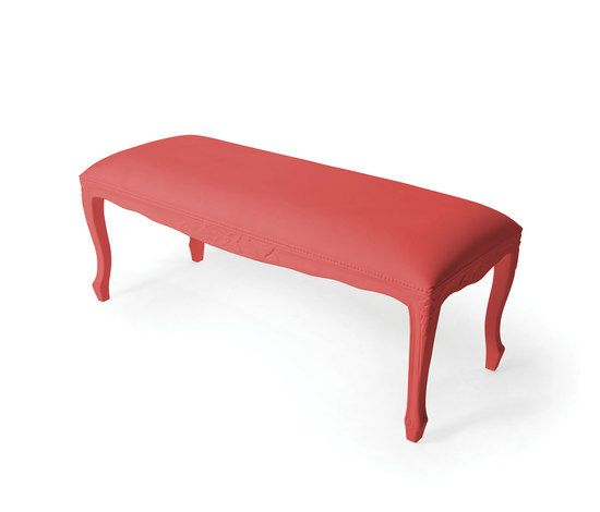 JSPR,Outdoor Furniture,bench,furniture,red,table
