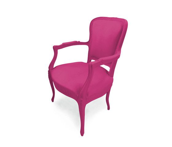 JSPR,Lounge Chairs,chair,furniture,magenta,pink,purple