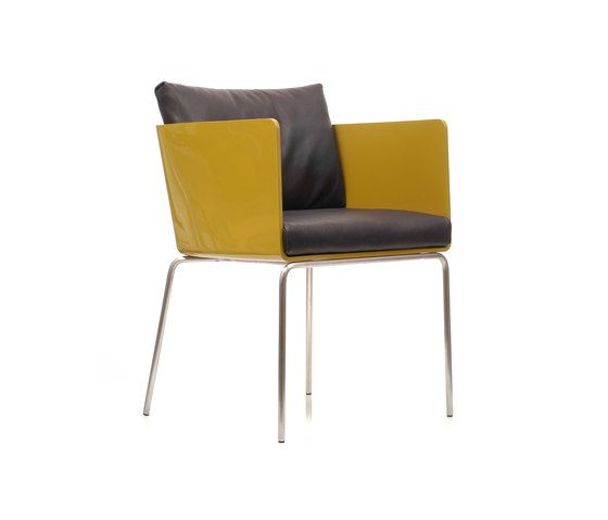 Living Divani,Dining Chairs,armrest,chair,furniture,yellow