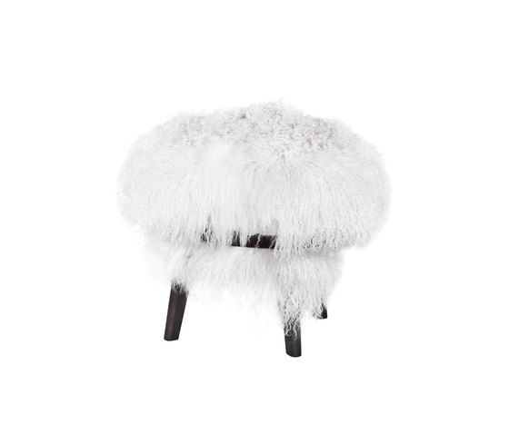 Frag,Footstools,feather,fur,white