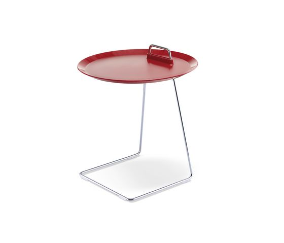 Studio Domo,Coffee & Side Tables,cake stand,coffee table,end table,furniture,red,serveware,table