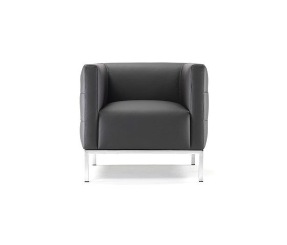 Giulio Marelli,Lounge Chairs,black,chair,club chair,furniture,leather,product