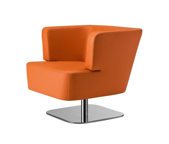 Tonon,Lounge Chairs,chair,furniture,line,orange