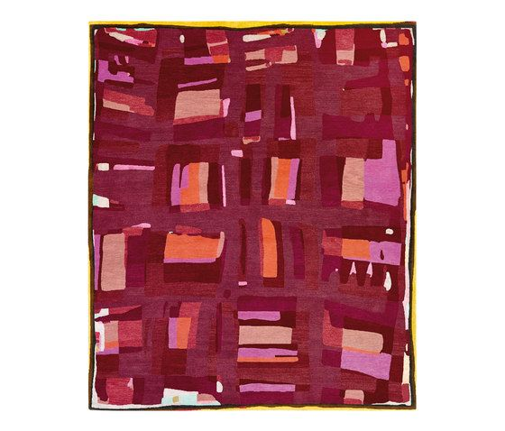 REUBER HENNING,Rugs,magenta,purple,rectangle,rug,textile,violet