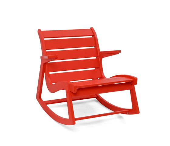 Loll Designs,Outdoor Furniture,chair,furniture,outdoor furniture,red,rocking chair