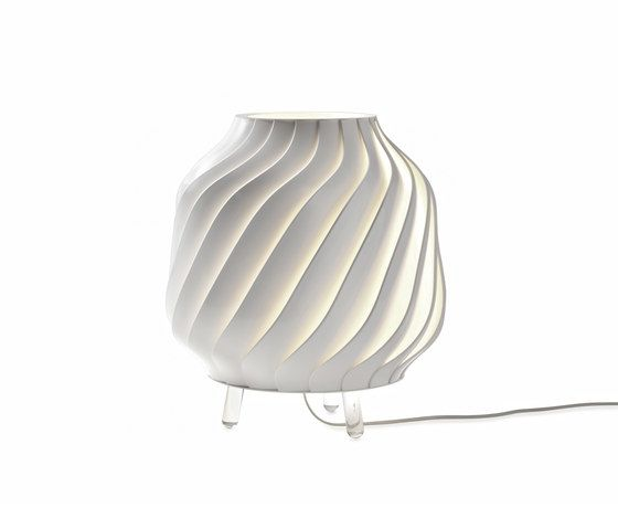 Fabbian,Table Lamps,lamp,lampshade,light fixture,lighting,vase,white