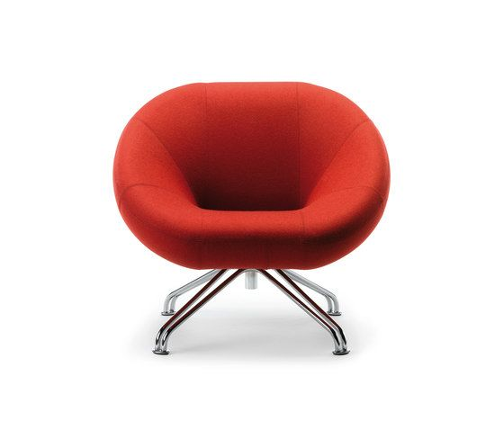 SB Seating,Lounge Chairs,chair,furniture,orange,red