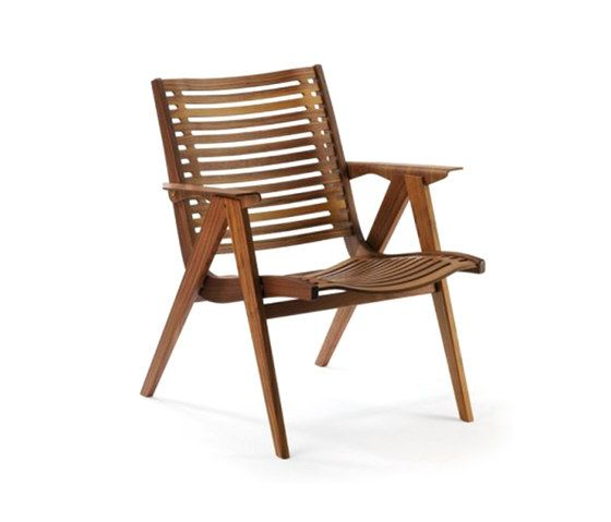 Rex Kralj,Lounge Chairs,chair,furniture,outdoor furniture,wood