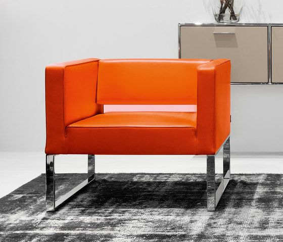 Dauphin Home,Armchairs,chair,couch,furniture,orange,red,room,yellow