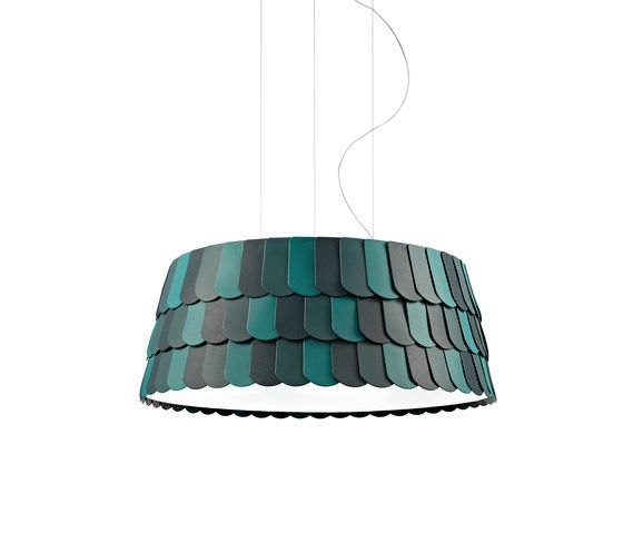 Fabbian,Pendant Lights,aqua,ceiling fixture,lampshade,light fixture,lighting,lighting accessory,teal,turquoise