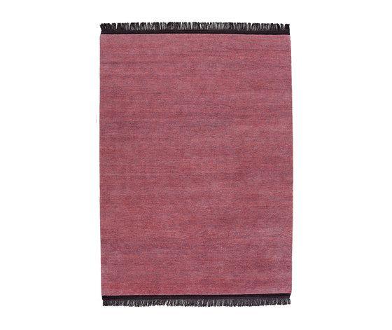 REUBER HENNING,Rugs,brown,linens,magenta,maroon,pink,purple,violet
