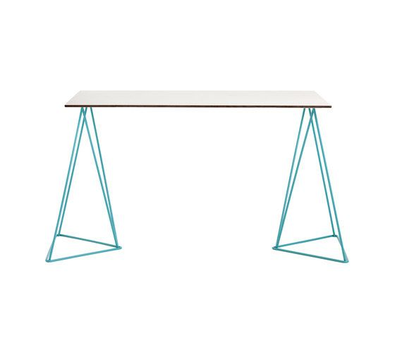 iSi mar,Dining Tables,desk,furniture,line,rectangle,table,triangle,turquoise