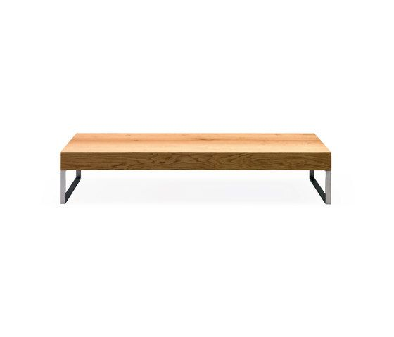 Janua / Christian Seisenberger,Coffee & Side Tables,coffee table,furniture,outdoor bench,outdoor table,rectangle,table,wood
