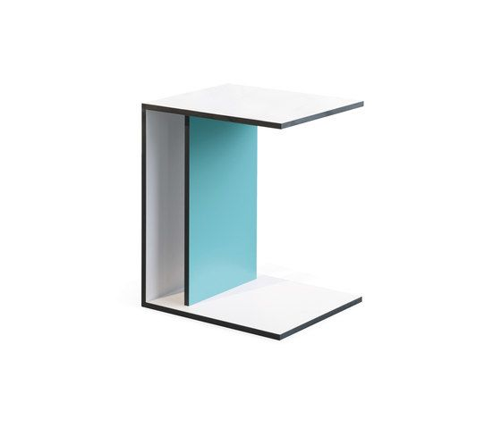 Janua / Christian Seisenberger,Coffee & Side Tables,furniture,shelf,table,turquoise