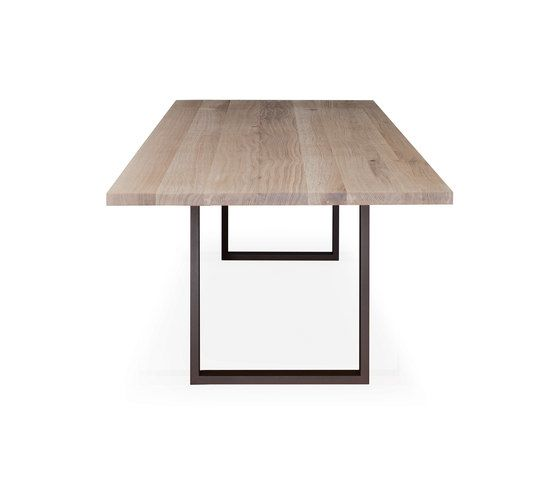 Janua / Christian Seisenberger,Dining Tables,beige,furniture,lighting,rectangle,table,wood