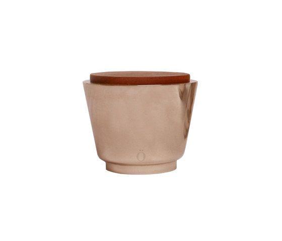 Stabörd,Table Lamps,beige,brown,earthenware,flowerpot,footwear