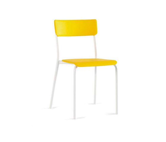 LAGO,Dining Chairs,chair,furniture,yellow